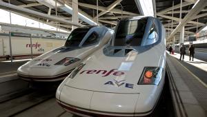 Zestawy pociągowe AVE (Alta Velocidad Espanola).