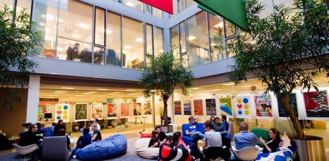 Partio w oddziale Google w Dublinie, Irlandia.
