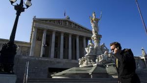 Austriacki parlament w Wiedniu, 12.03.2012