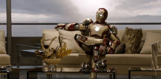 "Robert Downey Jr. w filmie ""Iron Man 3"""