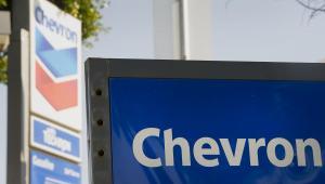 Koncern paliwowy Chevron.