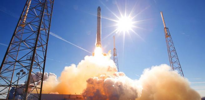 Próba rakiety Falcon 9