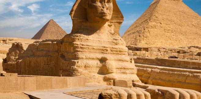 Wielki Sfinks w Gizie