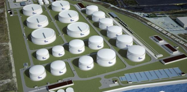 Terminal naftowy w Gdańsku -  źródło: PERN