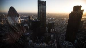 Panorama Londynu, Wielka Brytania, 28.10.2014