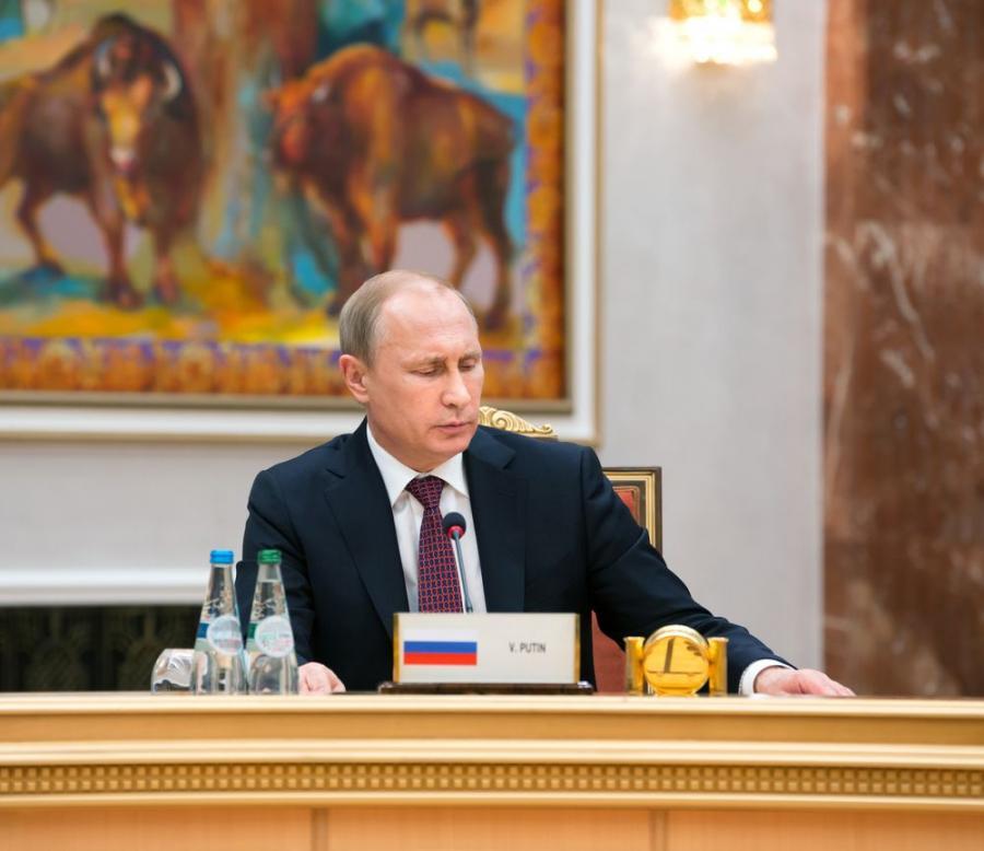 Władimir Putin, Fot. Drop of Light / Shutterstock.com