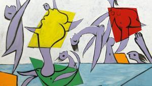 Le sauvetage, Pablo Picasso, źródło: Sothebys