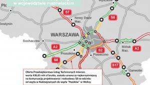 Przetartg na dokończenie S8 w woj. mazowieckim