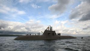 Okręt podwodny typu 212A, CC BY 2.0, ©Bundeswehr/Schönbrodt