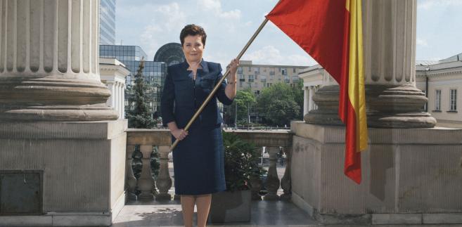 Hanna Gronkiewicz-Waltz, wiceprzewodnicząca Platformy Obywatelskiej, prezydent Warszawy od 2006 r. Fot. Maksymilian Rigamonti