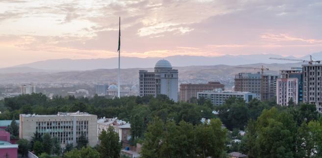 Duszanbe, stolica Tadżykistanu