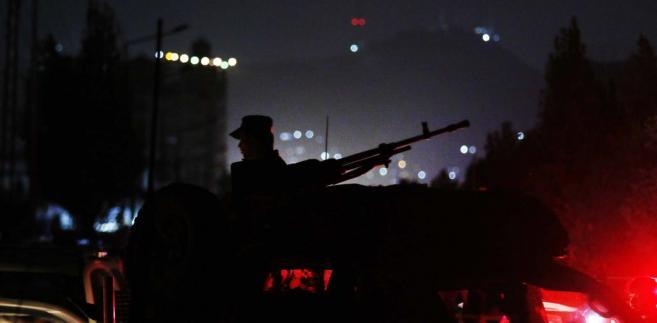 Atak na Uniwersystet Amerykański w Kabulu EPA/HEDAYATULLAH AMID Dostawca: PAP/EPA.