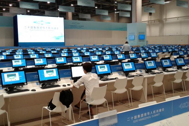 Szczyt G20 w chińskim Hangzhou Fot. Rafał Tomański
