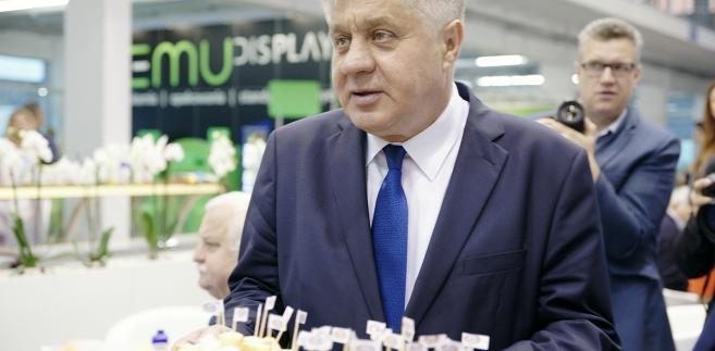 Minister rolnictwa Krzysztof Jurgiel, źródło: resort rolnictwa