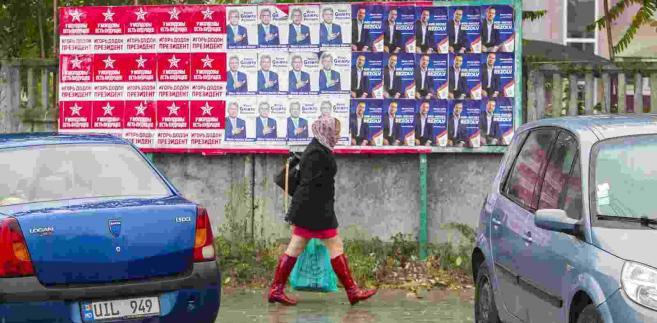 Mołdawia przed wyborami prezydenckimi EPA/DUMITRU DORU Dostawca: PAP/EPA.