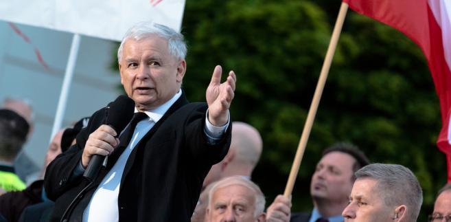 Jarosław Kaczyński  aut. Michael Wende / Shutterstock.com
