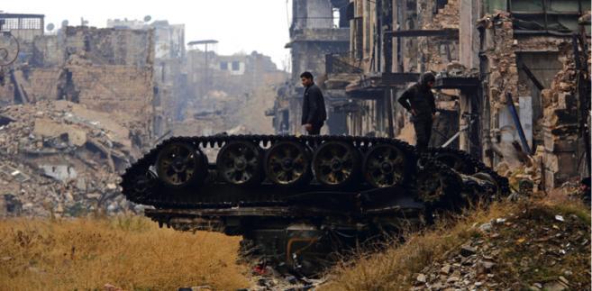 W interesie Rosji może być przeciąganie wojny jeszcze przez lata. Po to aby destabilizować region i Europę, którą wciąż zalewać będą rzeki uciekinierów fot. Omar Sanadiki/Reuters/Forum