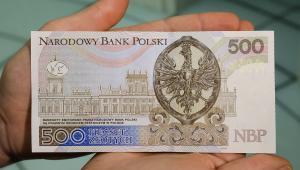 Prezentacja nowego banknotu o nominale 500 zł w Centrum Pieniądza NBP w Warszawie,
