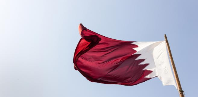 Katar flaga Kataru