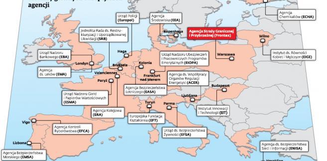 Siedziby głównych europejskich agencji