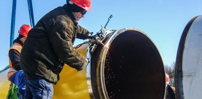 Budowa gazociągu