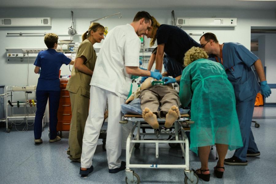 Maksymilian Rigamonti lekarze ratownicy