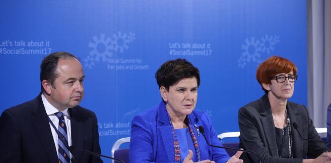 Beata Szydło po szczycie w Goeteborgu