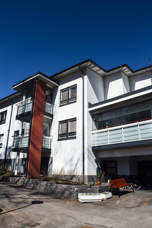 Ośrodek mieszkań wspieranych Väinölä. Zdj. Y-Foundation/ Vilja Pursiainen