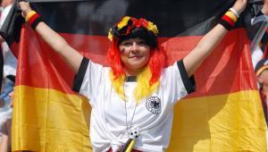 Kibicka reprezentacji Niemiec