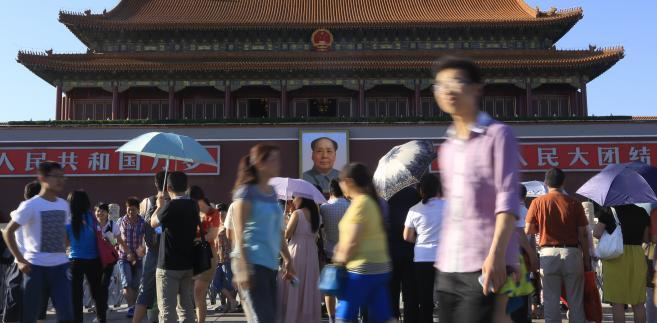 Plac Tiananmen, Pekin, Chiny