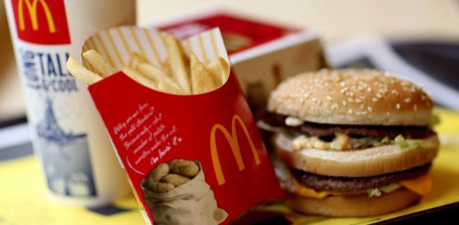 Zestaw BigMac z McDonlad's