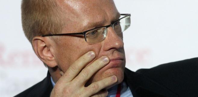 B. szef GPW Ludwik Sobolewski.
