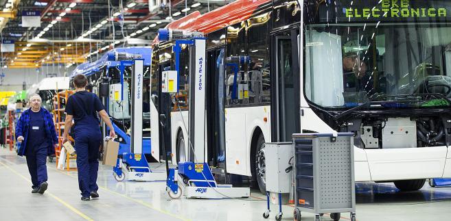 Montaż autobusów Volvo w fabryce we Wrocławiu (6)