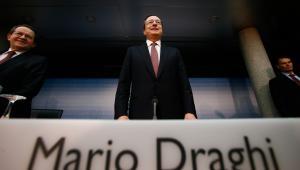 Mario Draghi, szef EBC