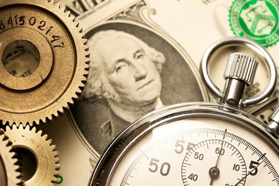 dolar, zegarek