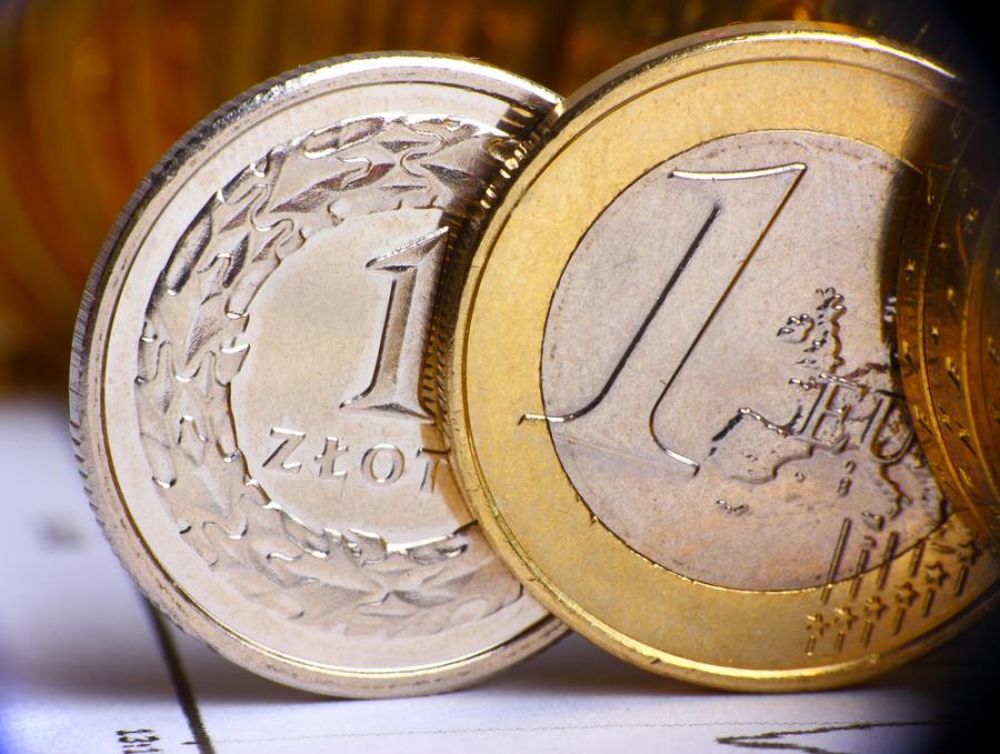 złotówka, euro, waluty