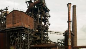 Stare zabudowania fabryczne