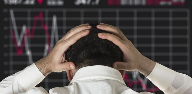 Inwestor, spadki na giełdzie