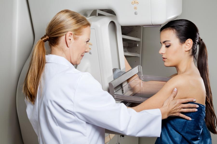 badanie, mammografia, lekarz, nowotwór