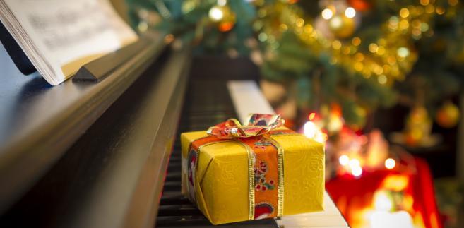 choinka, prezent, święta