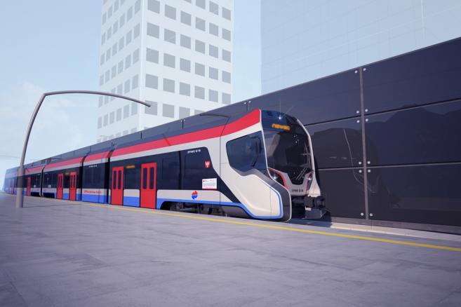 Wizualizacja nowego pociągu Newagu