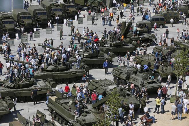 Międzynarodowe Forum wojskowo-techniczne ARMIA-2015