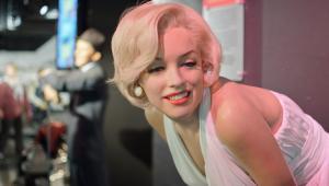 Marylin Monroe w muzeum figur woskowych