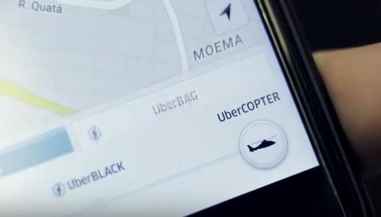 Ubercopter fot. Uber
