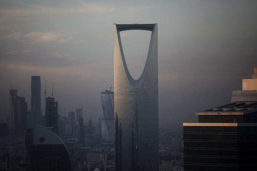Panorama Rijadu, Arabia Saudyjska, 1.12.2016
