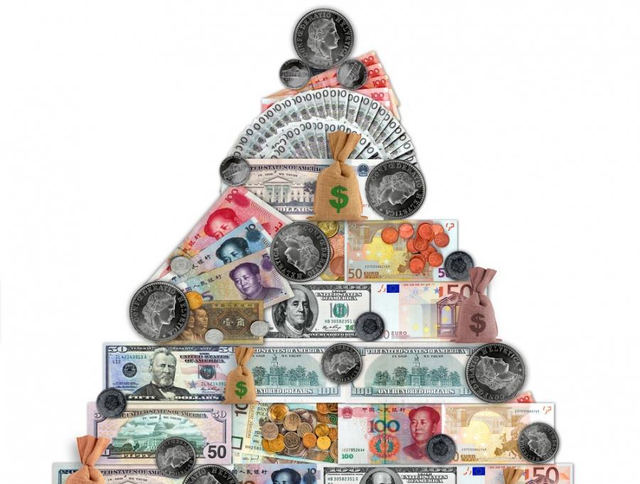 Piramida finansowa Fot. Shutterstock