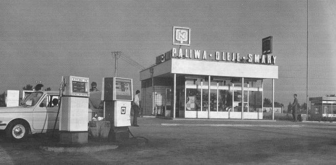 Stacja CPN w Modlinie, lata 70