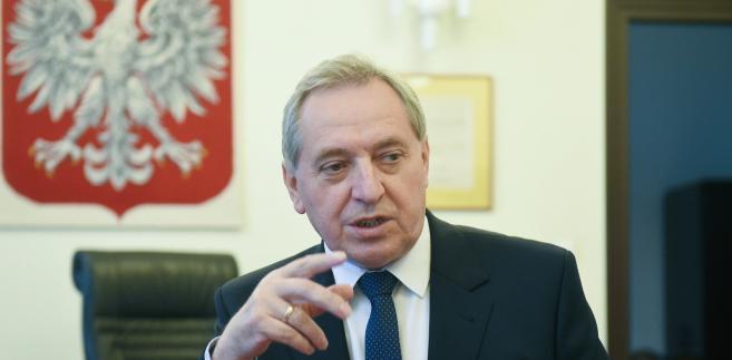 Przewodniczący Komitetu Stałego Rady Ministrów Henryk Kowalczyk