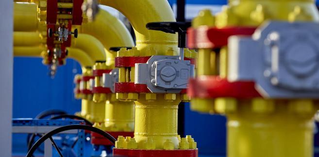 Instalacje gazowe należące do PGNiG w Kokorzynie. 23.02.2018