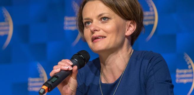 Emilewicz podczas EKG